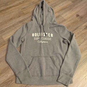 Women's Gray Hollister Hoodie